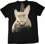 Nirvana Guitar T-Shirt Sheer
