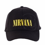 Nirvana Logo Subtle Smiley Hat