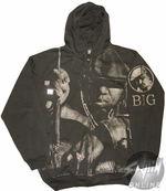 Notorious BIG Face Hoodie