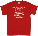 Office Space Stapler T-Shirt