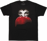 Once Upon a Time Evil Queen Apple Poster T-Shirt