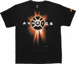 Orange Lantern Avarice T-Shirt