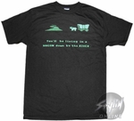 Oregon Trail Wagon River T-Shirt