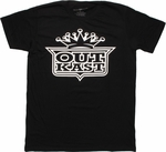 Outkast Crest Crown T Shirt Sheer