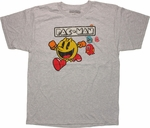 Pacman Chase Gray T Shirt Sheer