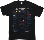 Pacman Game Over Screen T-Shirt