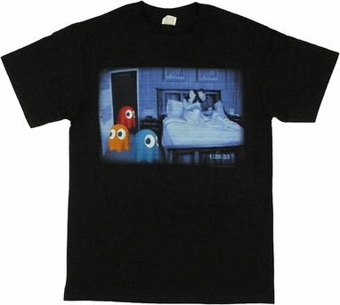 Pacman Paranormal Ghosts T Shirt