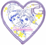 Peach Girl Heart Patch