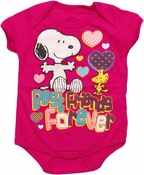 Peanuts Best Friends Forever Snap Suit