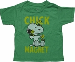 Peanuts Chick Magnet Toddler T Shirt