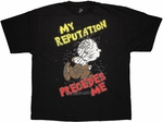 Peanuts Pig Pen Reputation T Shirt