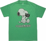 Peanuts Snoopy Look at Me Now T-Shirt
