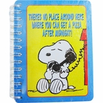 Peanuts Tin Address Book