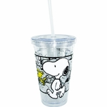 Peanuts Walking Snoopy Travel Cup