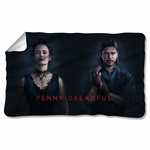 Penny Dreadful Chandler and Ives Fleece Blanket