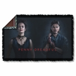 Penny Dreadful Chandler and Ives Throw Blanket