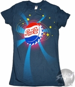 Pepsi Bottle Cap Baby Tee