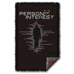 Person Of Interest Numbers Throw Blanket