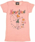 Peter Pan Never Land Baby Tee