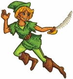 Peter Pan Sword Patch