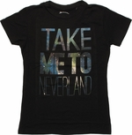Peter Pan Take Me to Neverland Baby Tee