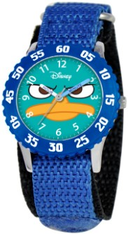 Phineas and Ferb Agent P Kids Time Teacher Watch