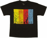 Phineas and Ferb Block Youth T Shirt