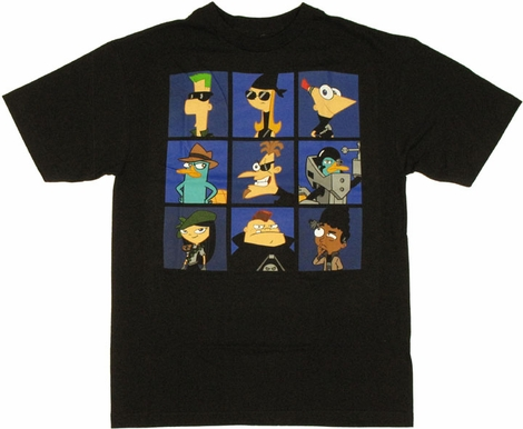 Phineas and Ferb Boxed T Shirt
