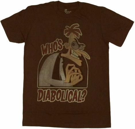 Phineas and Ferb Diabolical T Shirt Sheer