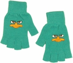 Phineas and Ferb Embroidered Gloves