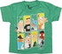Phineas and Ferb Gang Rectangles Juvenile T-Shirt