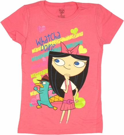 Phineas and Ferb Isabella Youth Girls T Shirt