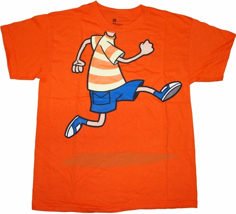 Phineas and Ferb Jump Youth T Shirt