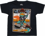 Phineas and Ferb Perry Hockey Juvenile T Shirt
