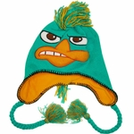 Phineas and Ferb Perry Mohawk Lapland Beanie