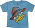 Phineas and Ferb Perry Striped Blue Juvenile Shirt