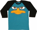 Phineas and Ferb Perry Raglan T Shirt