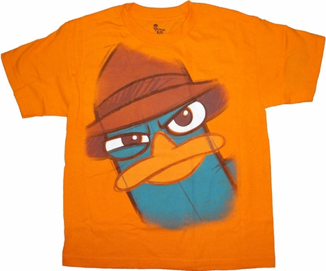 Phineas and Ferb Perry Youth T Shirt