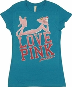 Pink Panther Love Baby Tee