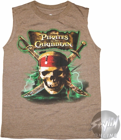 Pirates of the Caribbean Bolts Youth T-Shirt