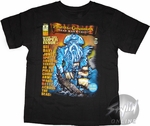 Pirates of the Caribbean Comic Cover Youth T-Shirt