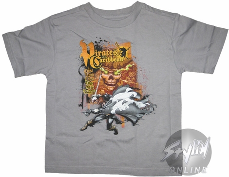 Pirates of the Caribbean Curse Youth T-Shirt