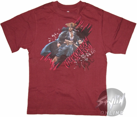 Pirates of the Caribbean Jack Sparrow Youth T-Shirt