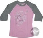 Pirates of the Caribbean Life Raglan Youth T-Shirt