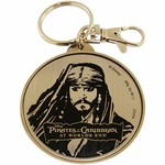 Pirates of the Caribbean Portrait Keychain
