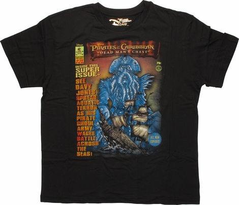 Pirates of the Caribbean Super Issue T-Shirt
