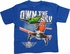 Planes Own the Sky Wings Globe Youth T-Shirt