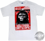 Planet of the Apes Dirty T-Shirt