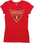 Plastic Man Shield Baby Tee