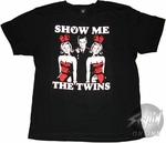 Playboy Twins T-Shirt Sheer